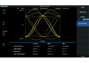 Siglent SVA1000X Digital Modulation Analysis Function