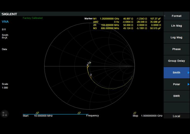 Siglent-Vector-Network-Analysis