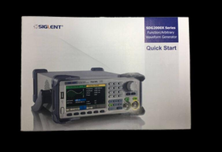 SDG2000X Manual