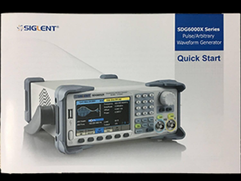 SDG6000X Manual