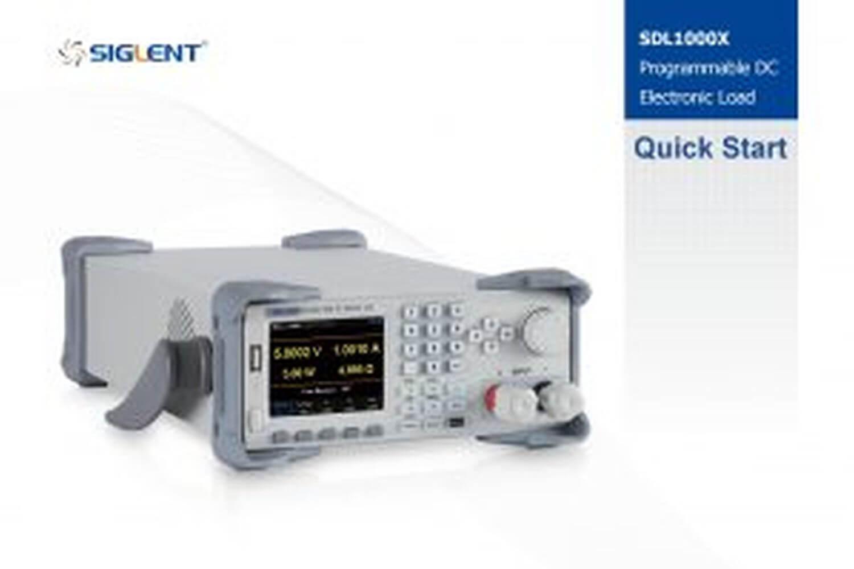 SDL1000X Manual