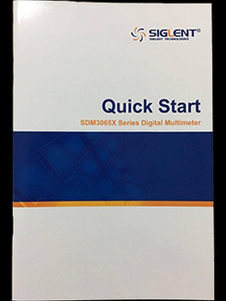 SDM3065X Manual