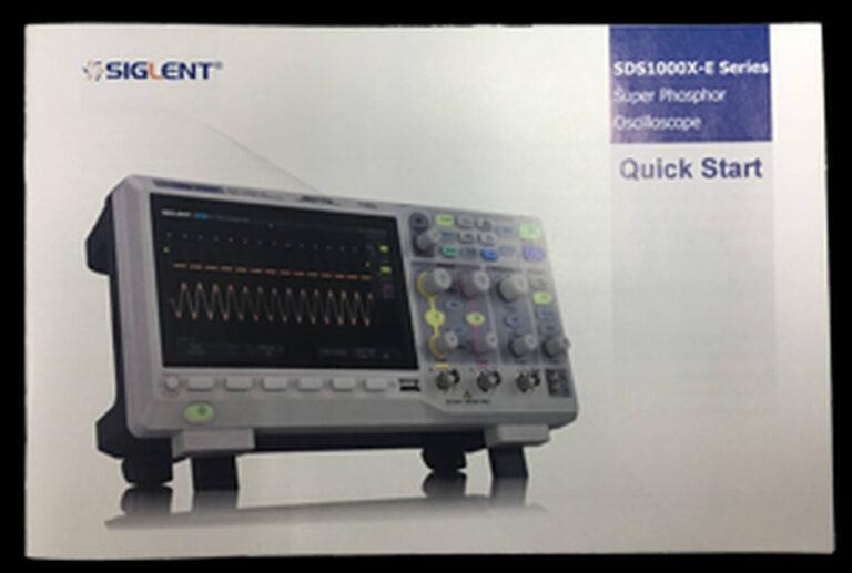 SDS1000X-E Manual