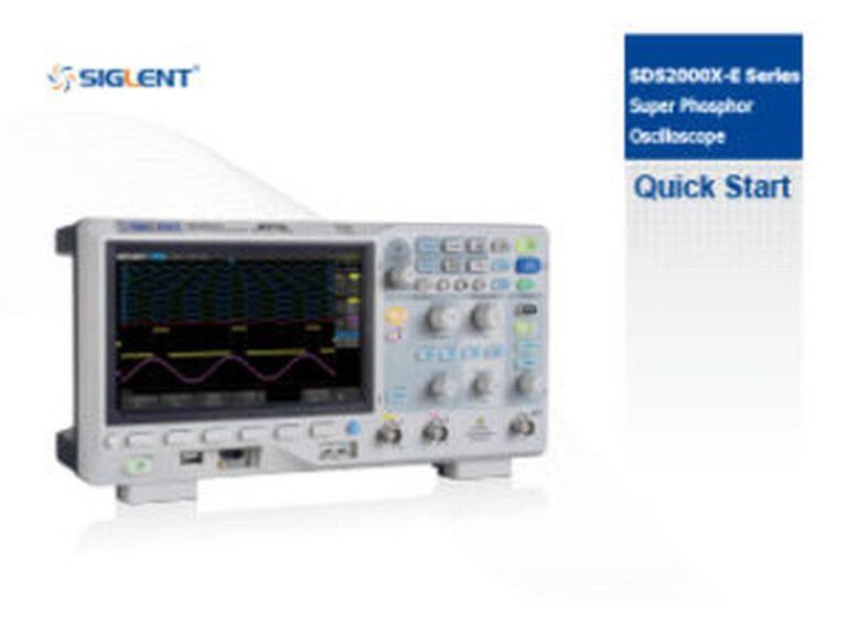 SDS2000X-E Manual