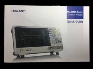 SSA3000X Manual