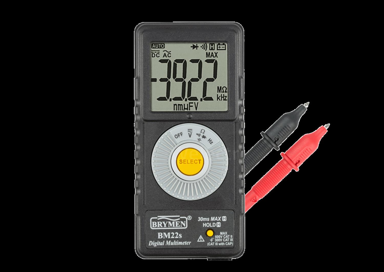 Free Brymen DMM Digital MultiMeter From Telonic