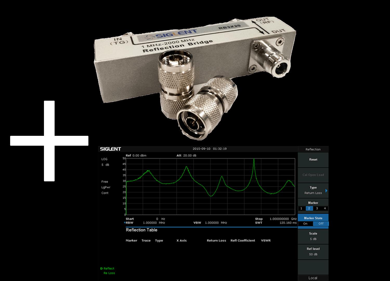 Siglent RBSSA3XP25 Reflection/VSWR Measurement Kit 1MHz ~ 2.5GHz (SSA3000X PLUS Series)