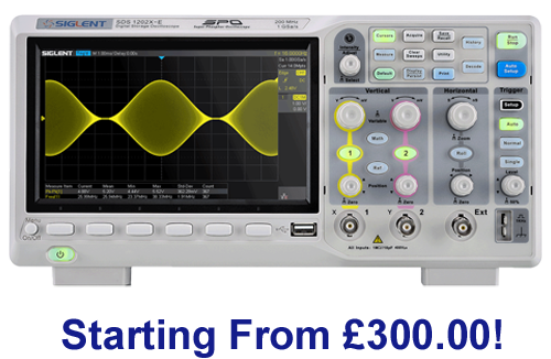 SDS1000X-E Series Super Phosphor Oscilloscope