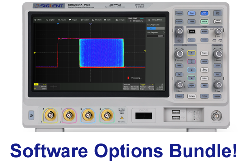SDS2000X Plus Series Digital Oscilloscopes