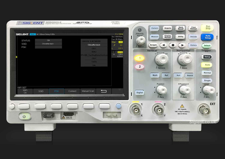 Siglent SDS2000X-E