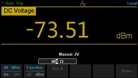 dBm Measurement